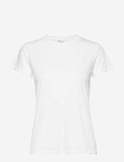Cotton Tee - t-shirts - white