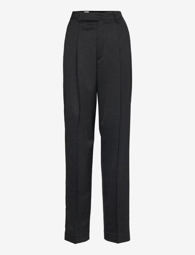 Julie Trouser - bukser med lige ben - black