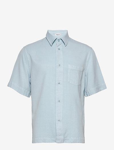 M. Owen Tencel Shirt - geruite overhemden - pale blue