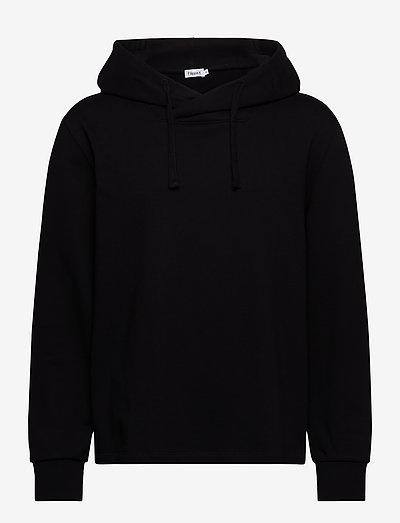 M. Walter Hoodie - basic sweatshirts - black