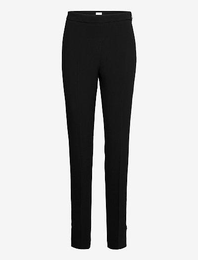 Cindy Trouser - straight leg trousers - black