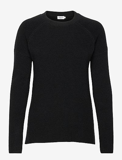 Marie Sweater - neulepuserot - black