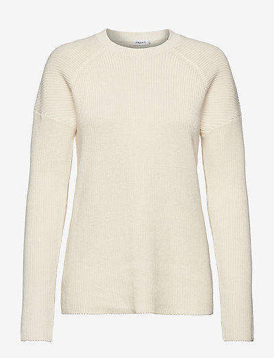 Marie Sweater - sweaters - white chal