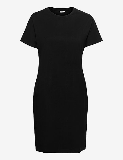 Effie T-Shirt Dress - kesämekot - black
