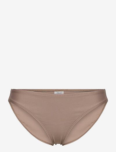 Shiny Bikini Brief - bikinitrosor - nougat bro