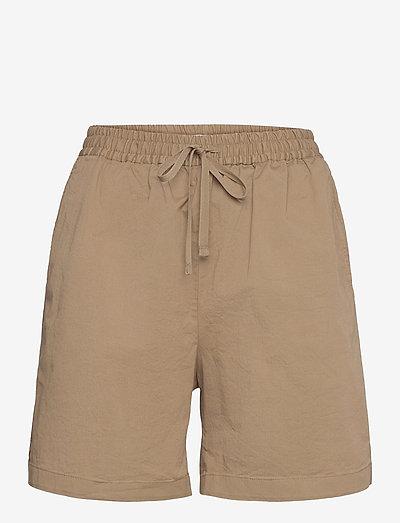 Jessa Short - casual shorts - muddy brow