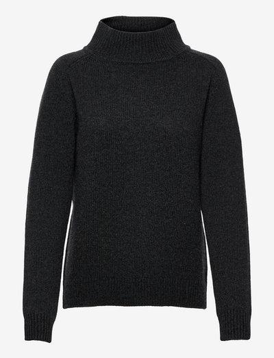 Juliana Sweater - turtlenecks - anthracite