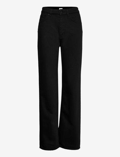 Eliza Jean - straight jeans - black