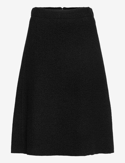 Elba Skirt - midi rokken - black