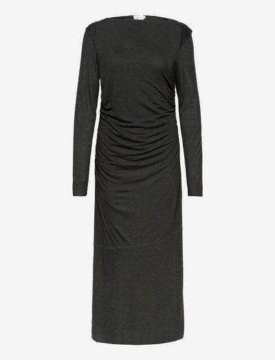 Uma Dress - sommerkleider - dark spruc