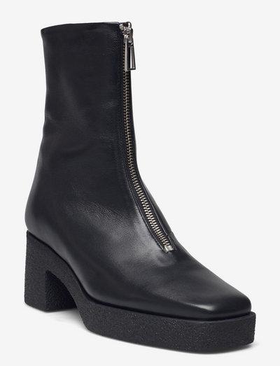Eileen Platform Boot - enkellaarsjes met hak - black