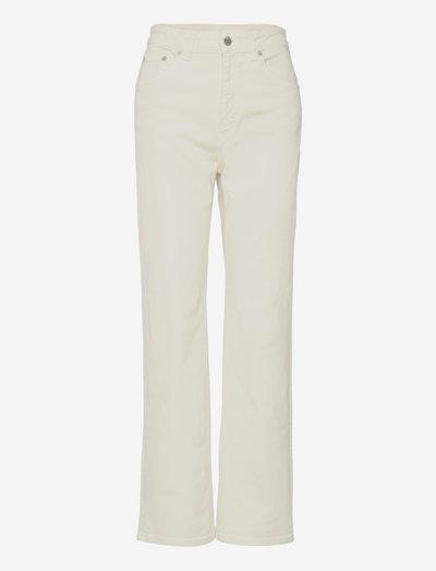 Eliza Jean - straight jeans - ivory