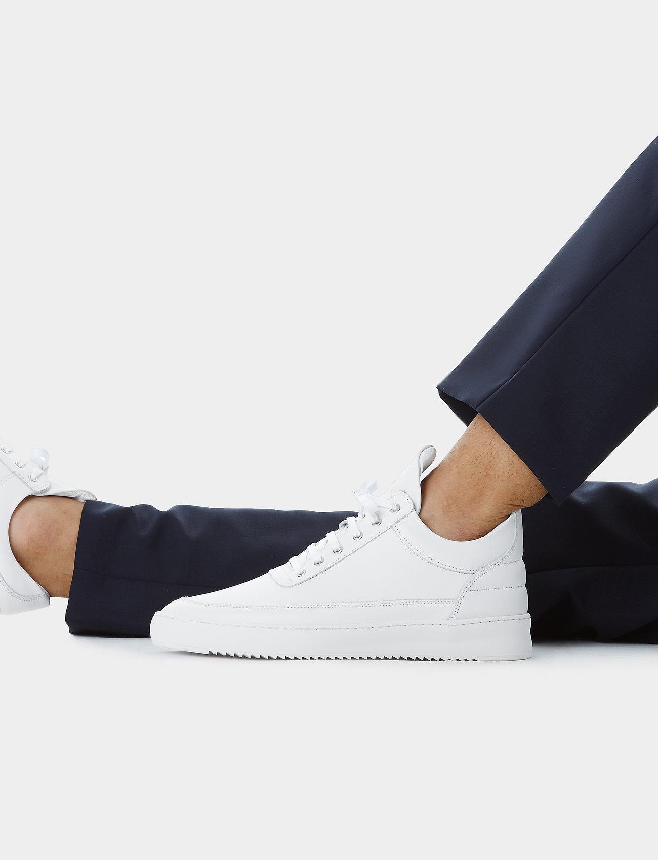 Filling Pieces - Low Top Ripple Lane Nappa - låga sneakers - white - 6