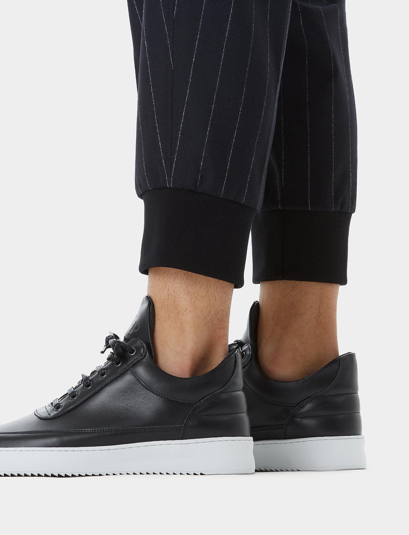 Filling Pieces - Low Top Ripple Nappa - låga sneakers - black - 6