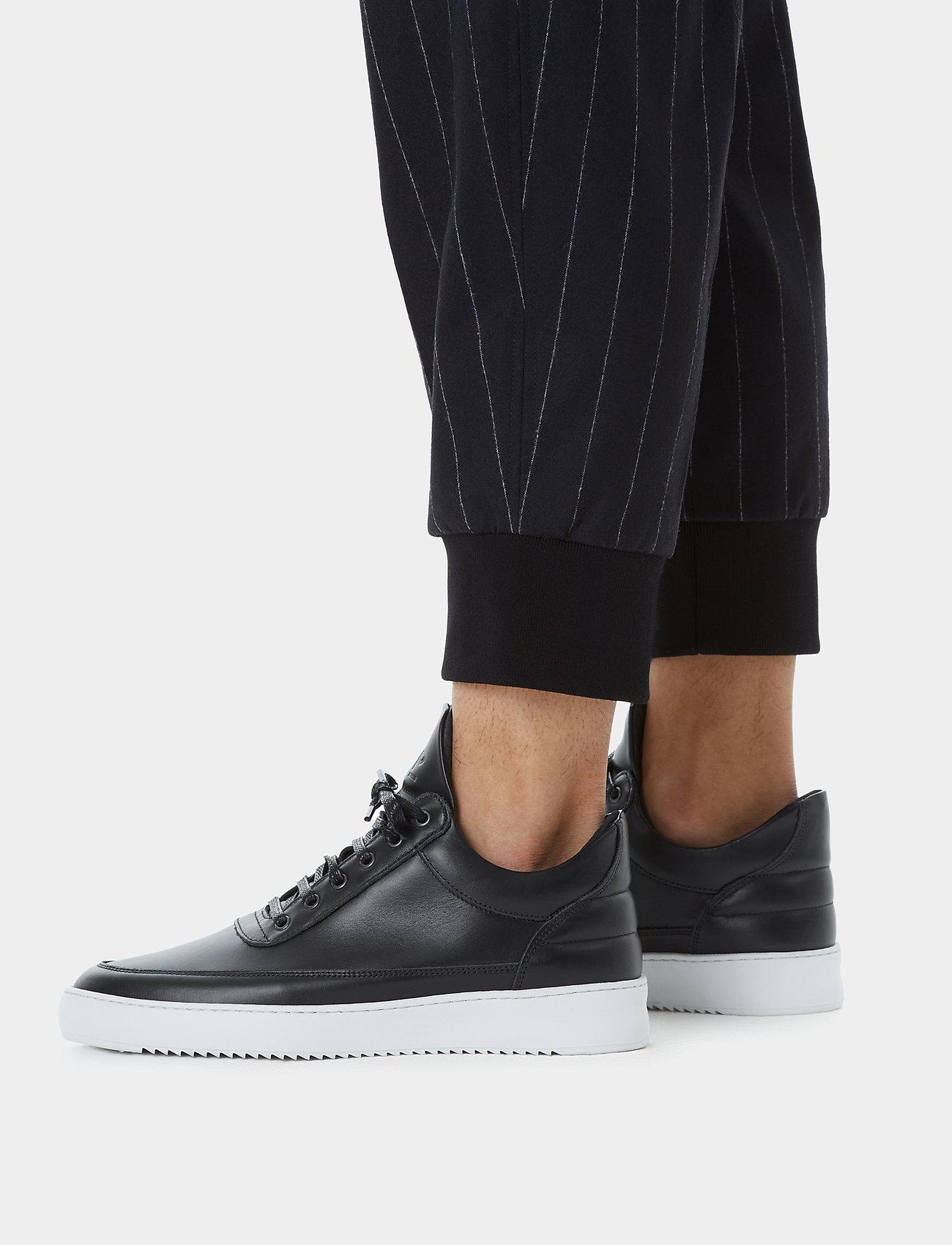 Filling Pieces - Low Top Ripple Nappa - låga sneakers - black - 7