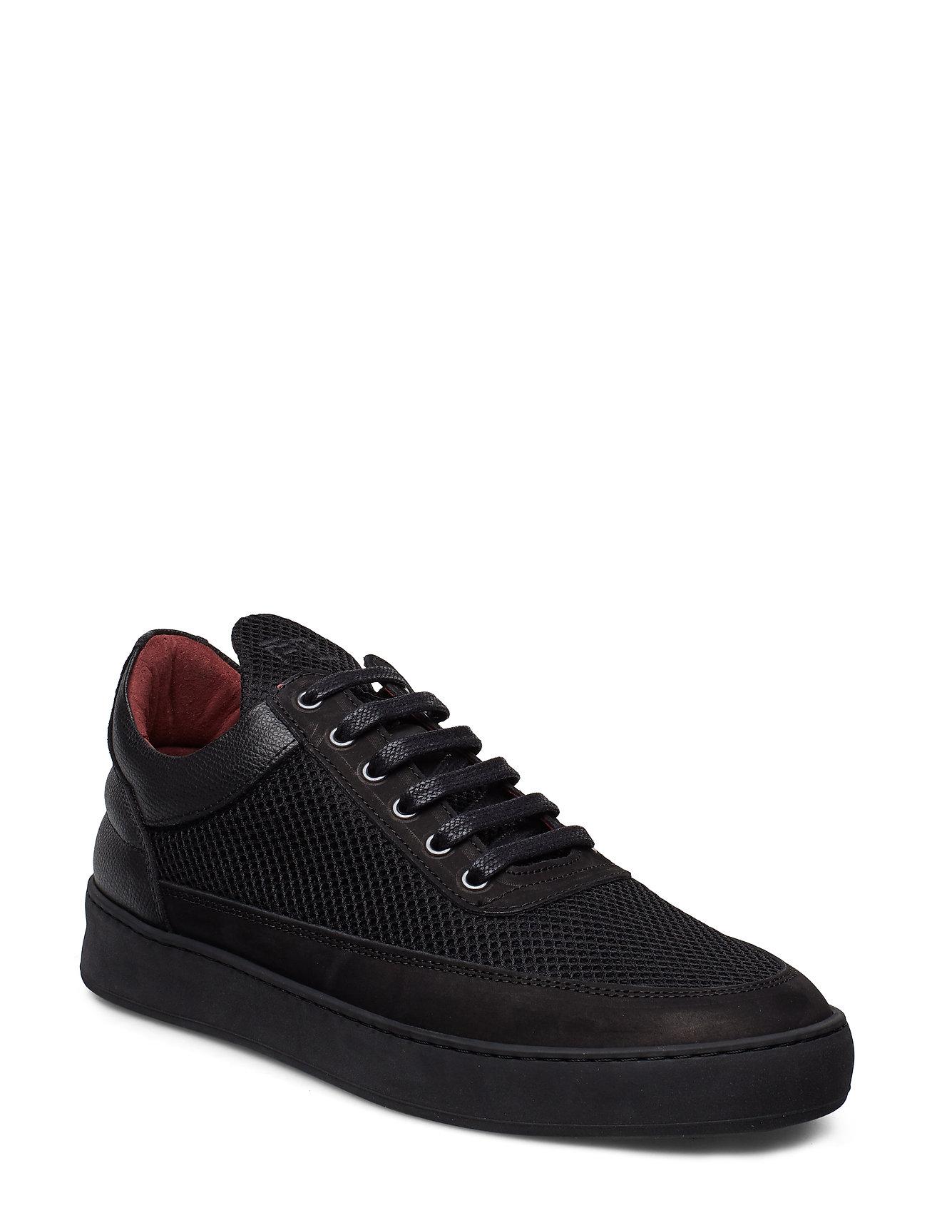 Image of Low Top Plain Infinity Low-top Sneakers Sort Filling Pieces (3203601945)