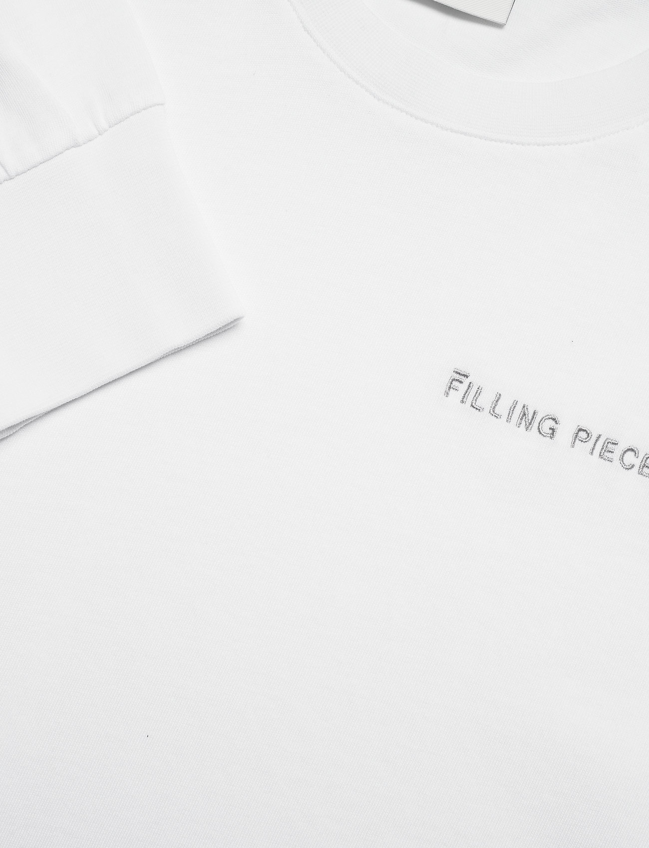 Filling Pieces - Essential Core Logo Tee - basic t-shirts - white - 2
