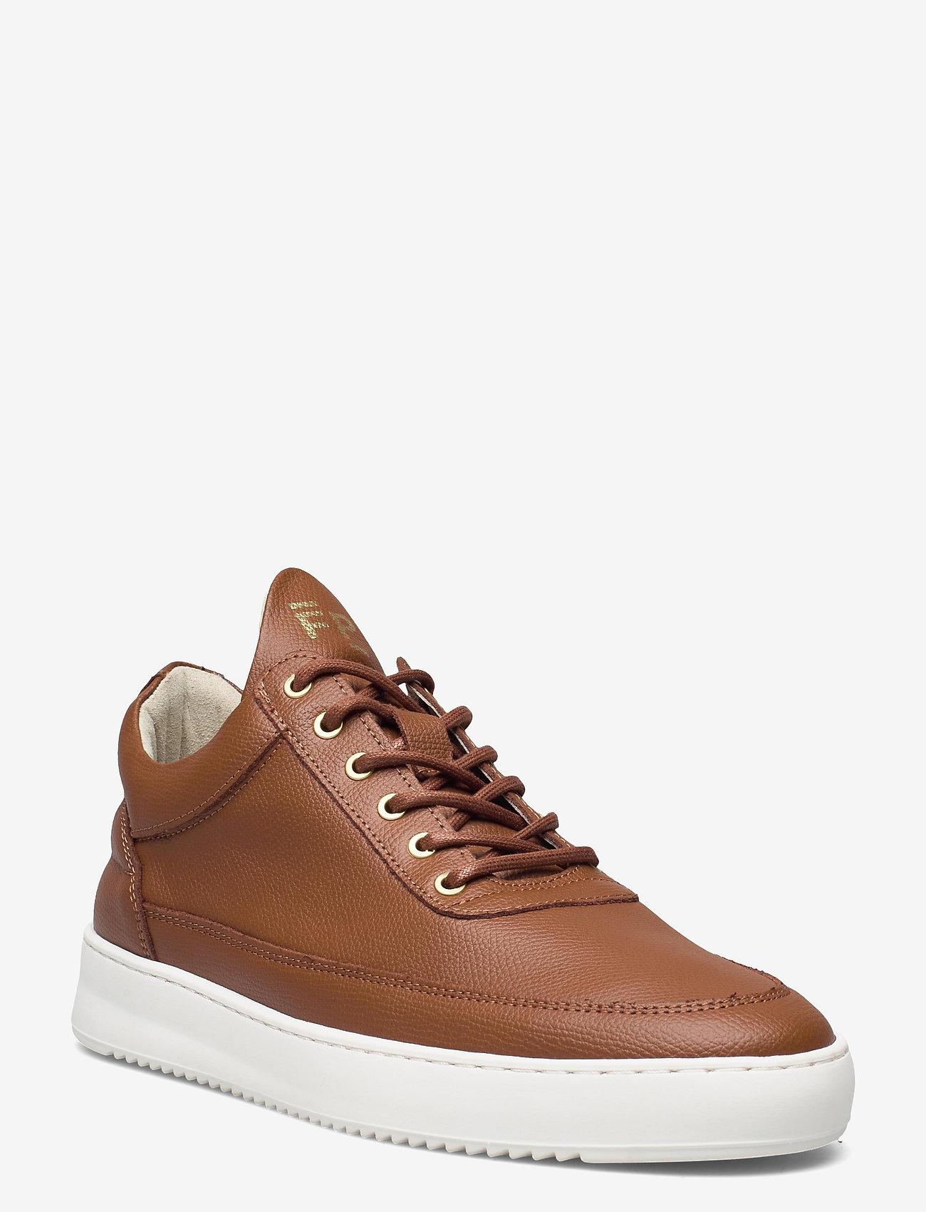 Filling Pieces - Low Top Crumbs - höga sneakers - brown - 1