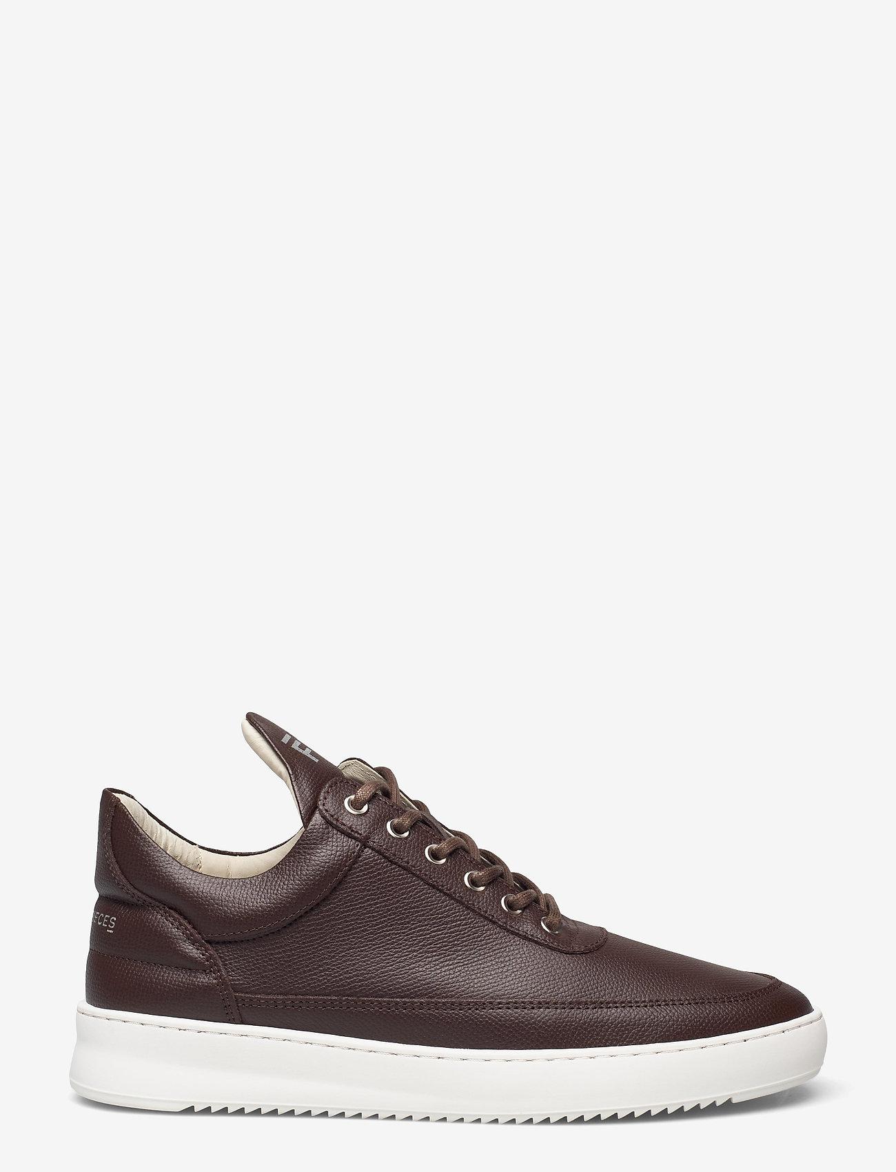 Filling Pieces - Low Top Crumbs - höga sneakers - dark brown - 0