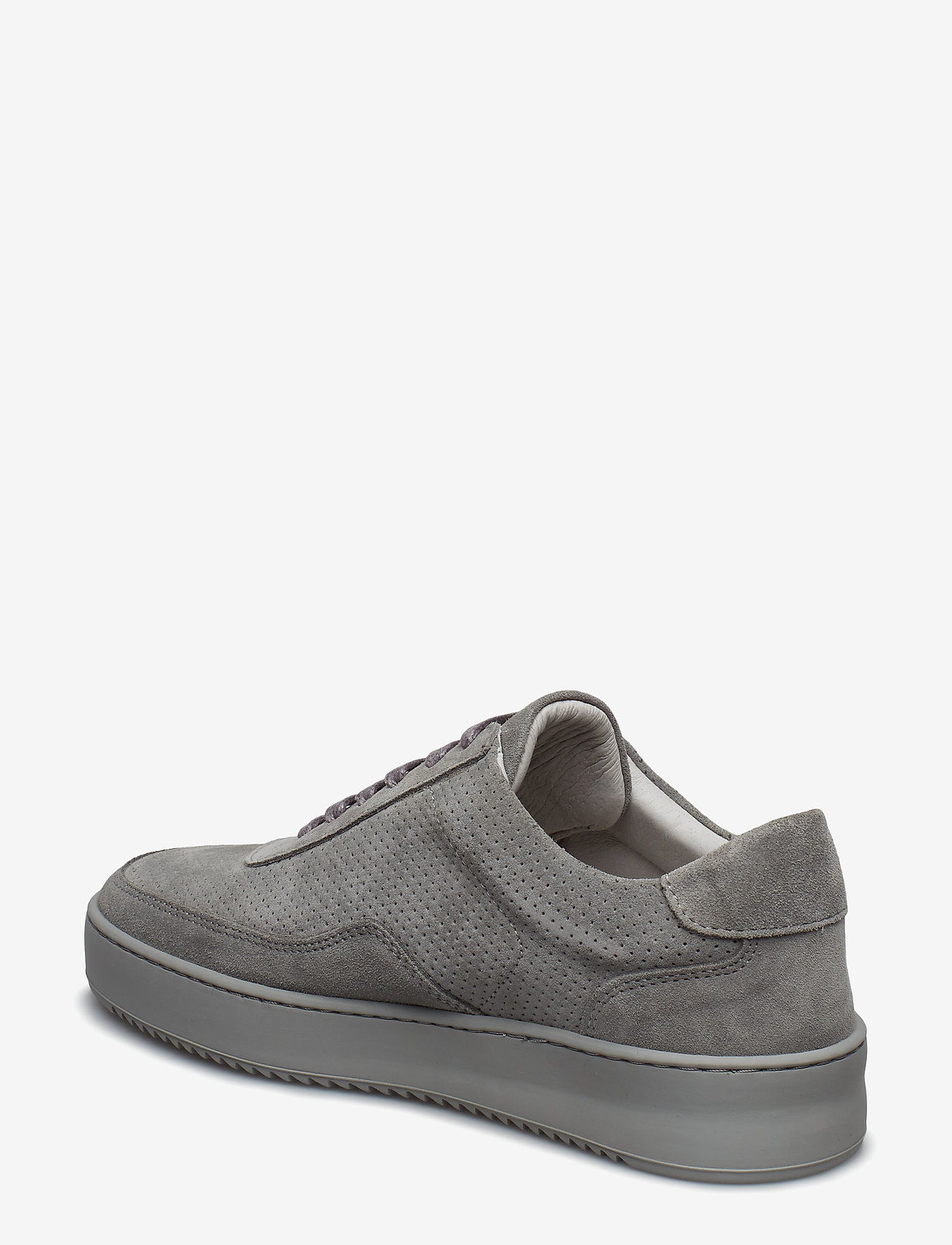 Filling Pieces - Low Mondo Ripple Suede Perforated - låga sneakers - cement grey - 3