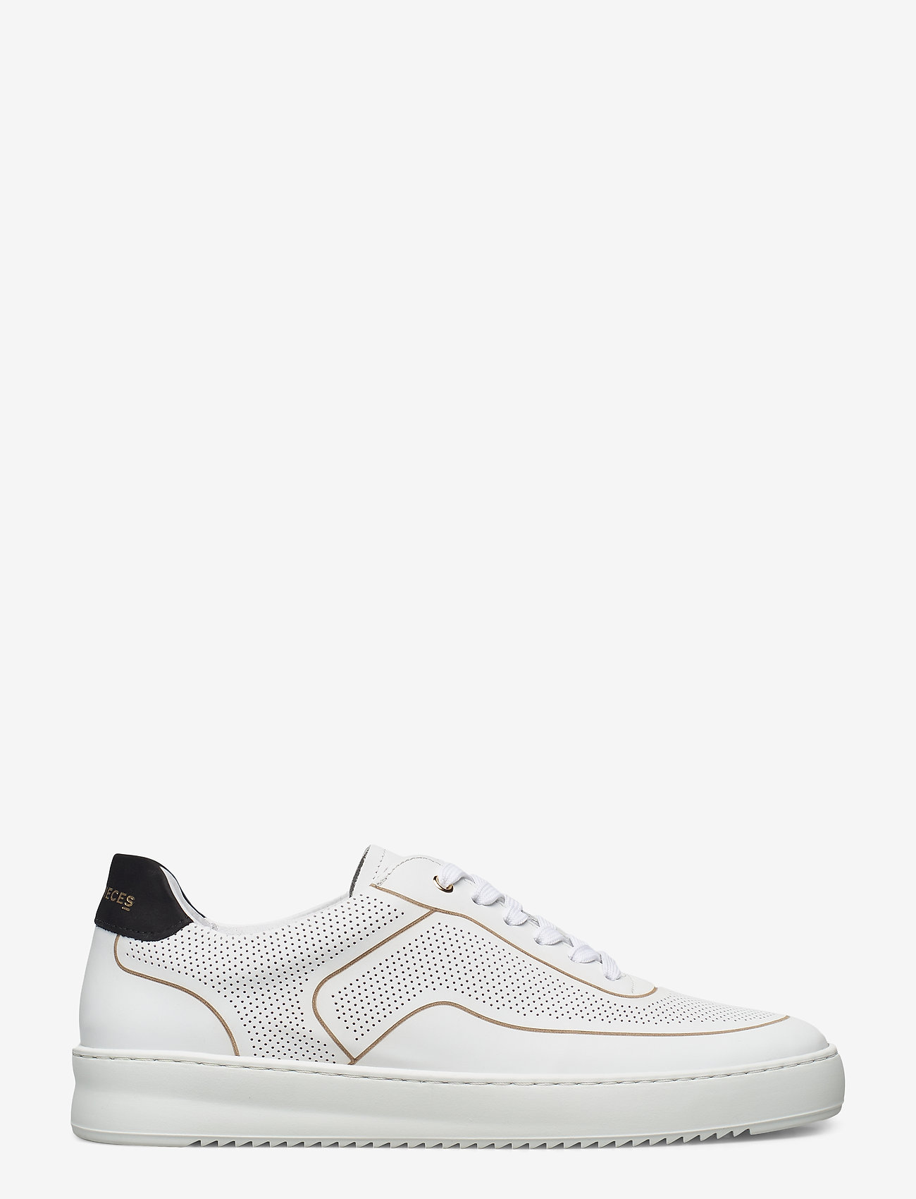 Filling Pieces - Mondo Ripple Dax - low tops - white - 1