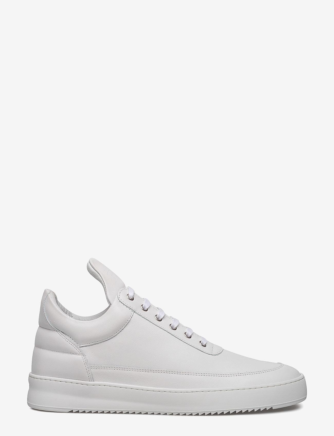 Filling Pieces - Low Top Ripple Lane Nappa - låga sneakers - white - 1