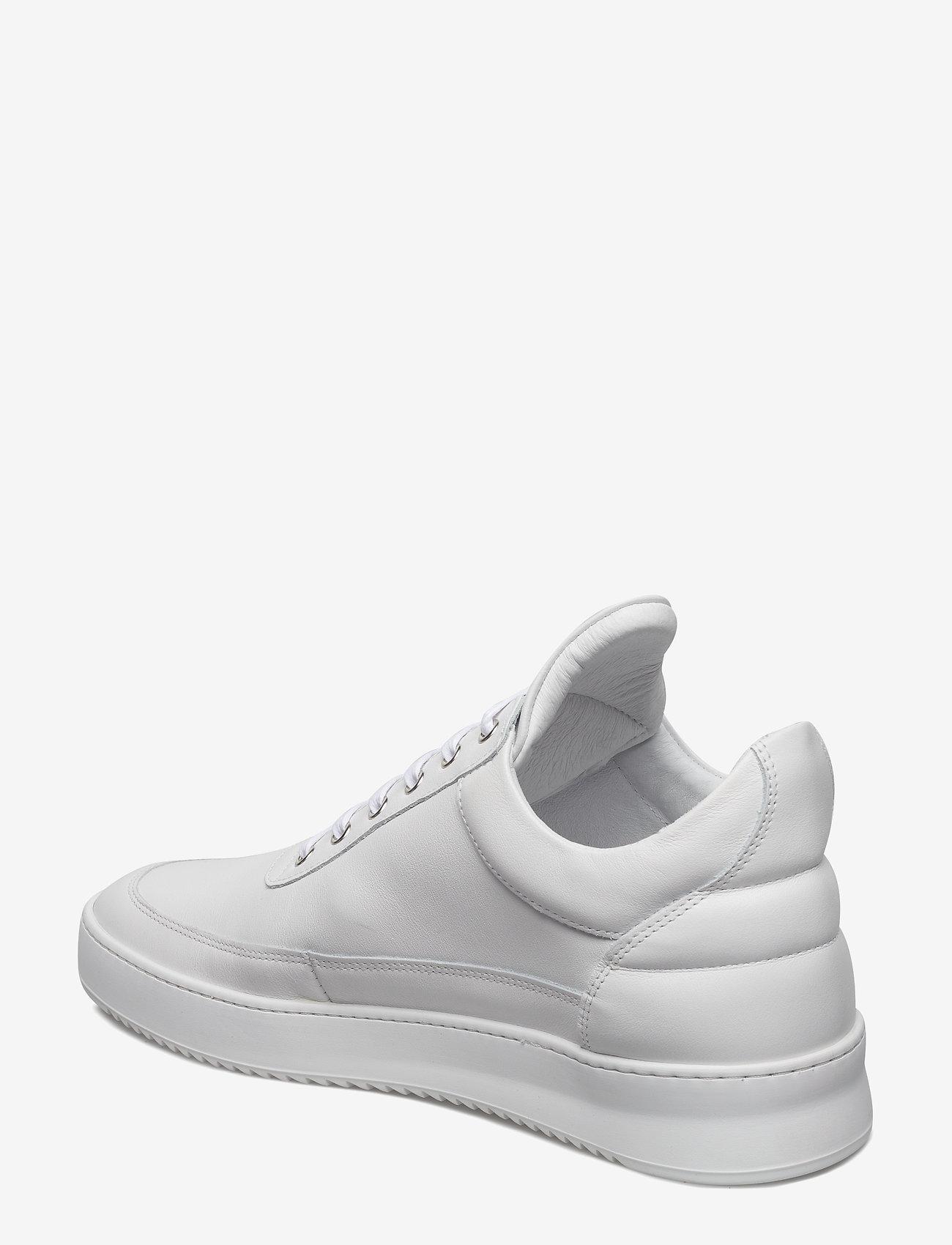 Filling Pieces - Low Top Ripple Lane Nappa - låga sneakers - white - 3