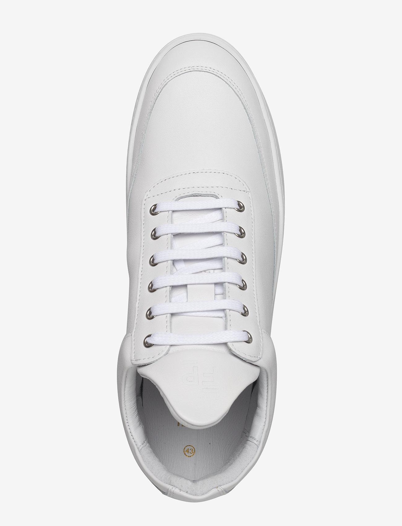 Filling Pieces - Low Top Ripple Lane Nappa - låga sneakers - white - 4