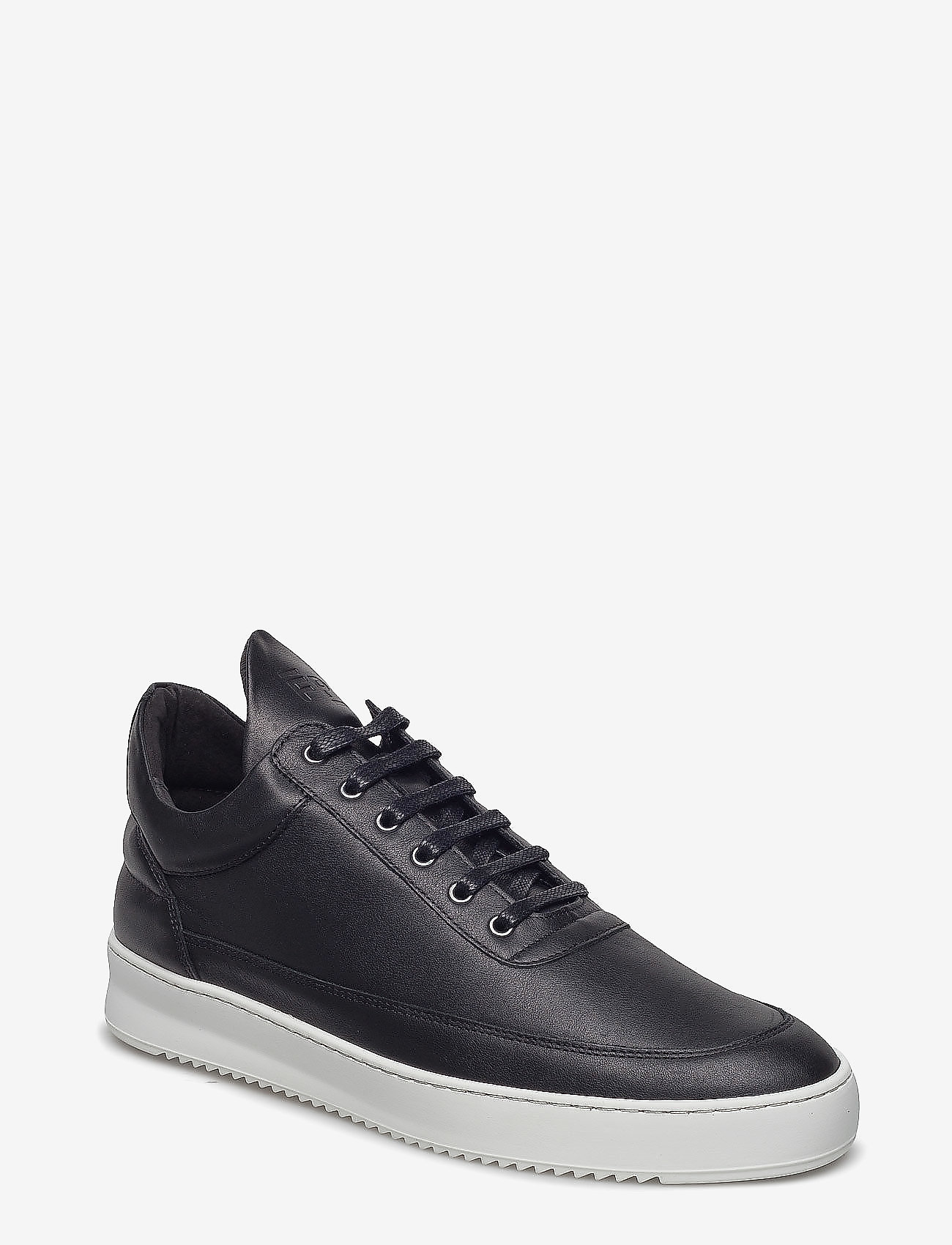 Filling Pieces - Low Top Ripple Nappa - low tops - black - 1
