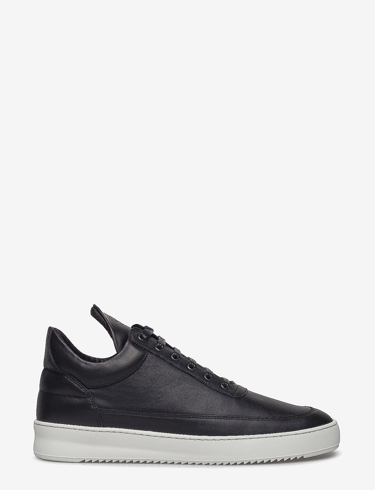 Filling Pieces - Low Top Ripple Nappa - låga sneakers - black - 1