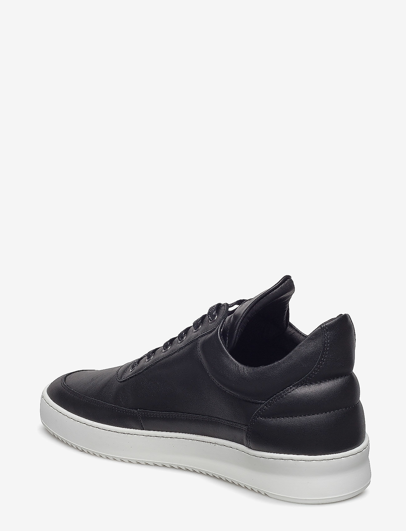 Filling Pieces - Low Top Ripple Nappa - låga sneakers - black - 3