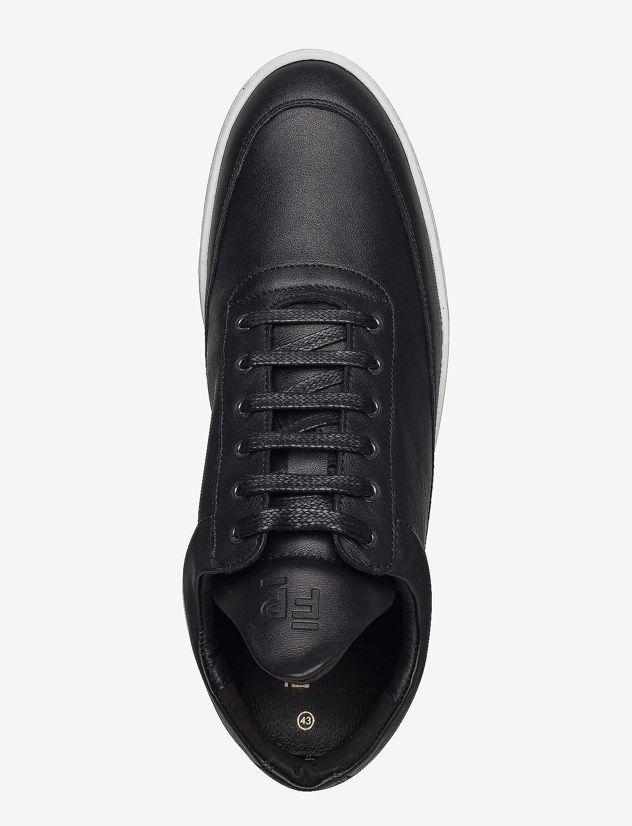 Filling Pieces - Low Top Ripple Nappa - låga sneakers - black - 4
