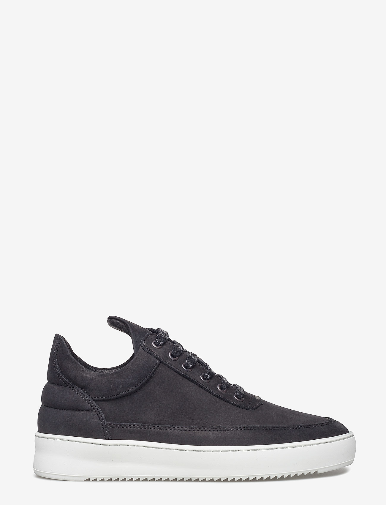 Filling Pieces - Low Top Ripple Basic Black / White - låga sneakers - black/white - 1