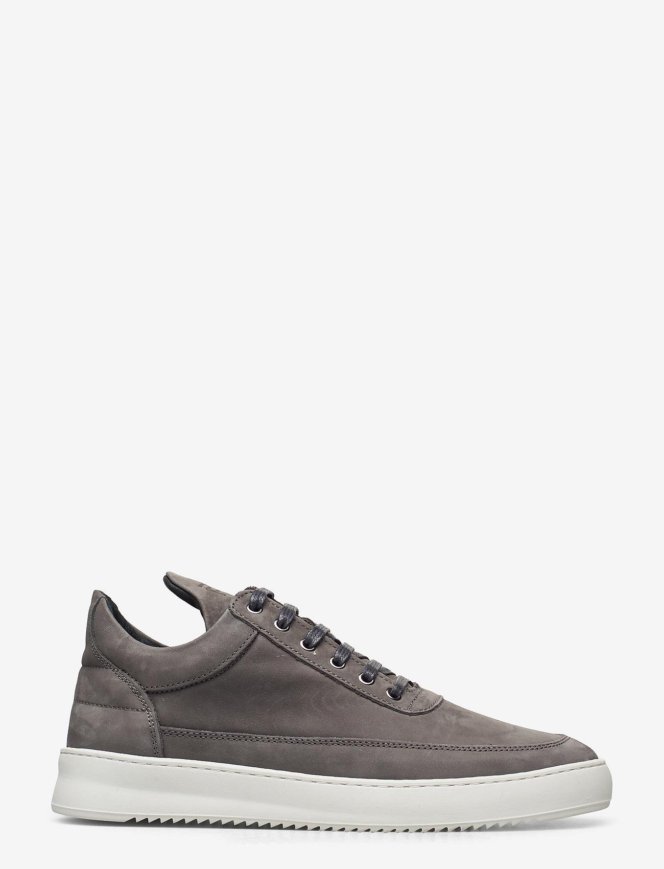 Filling Pieces - Low Top Ripple Nubuck - låga sneakers - black - 1