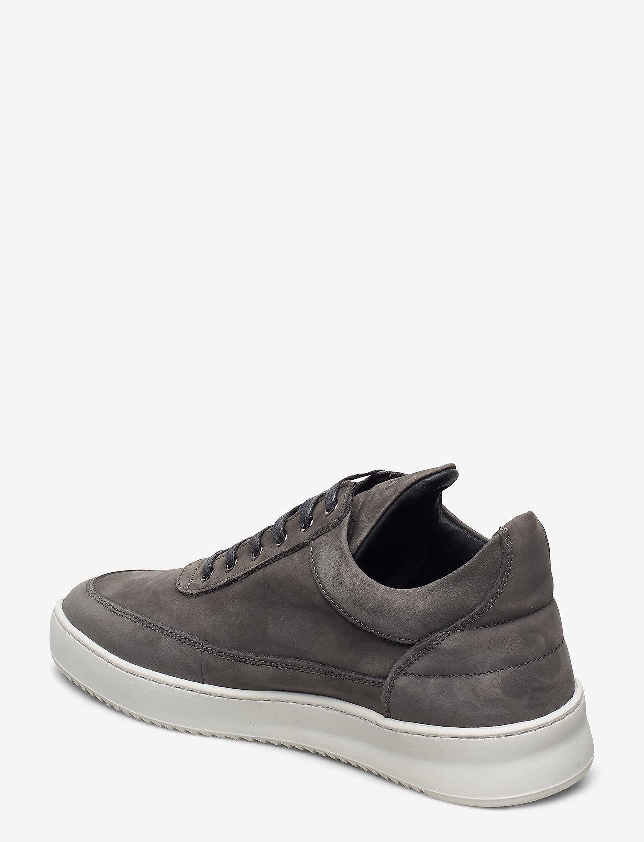 Filling Pieces - Low Top Ripple Nubuck - låga sneakers - black - 2