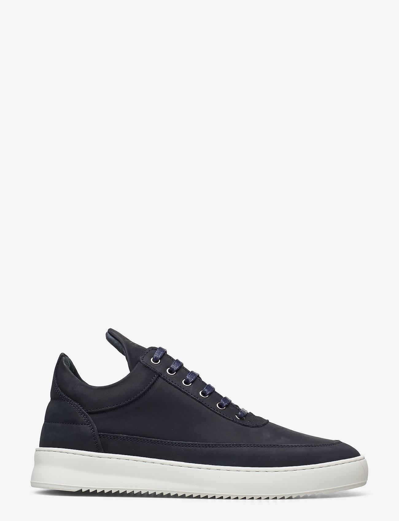 Filling Pieces - Low Top Ripple Nubuck - låga sneakers - dark blue - 2