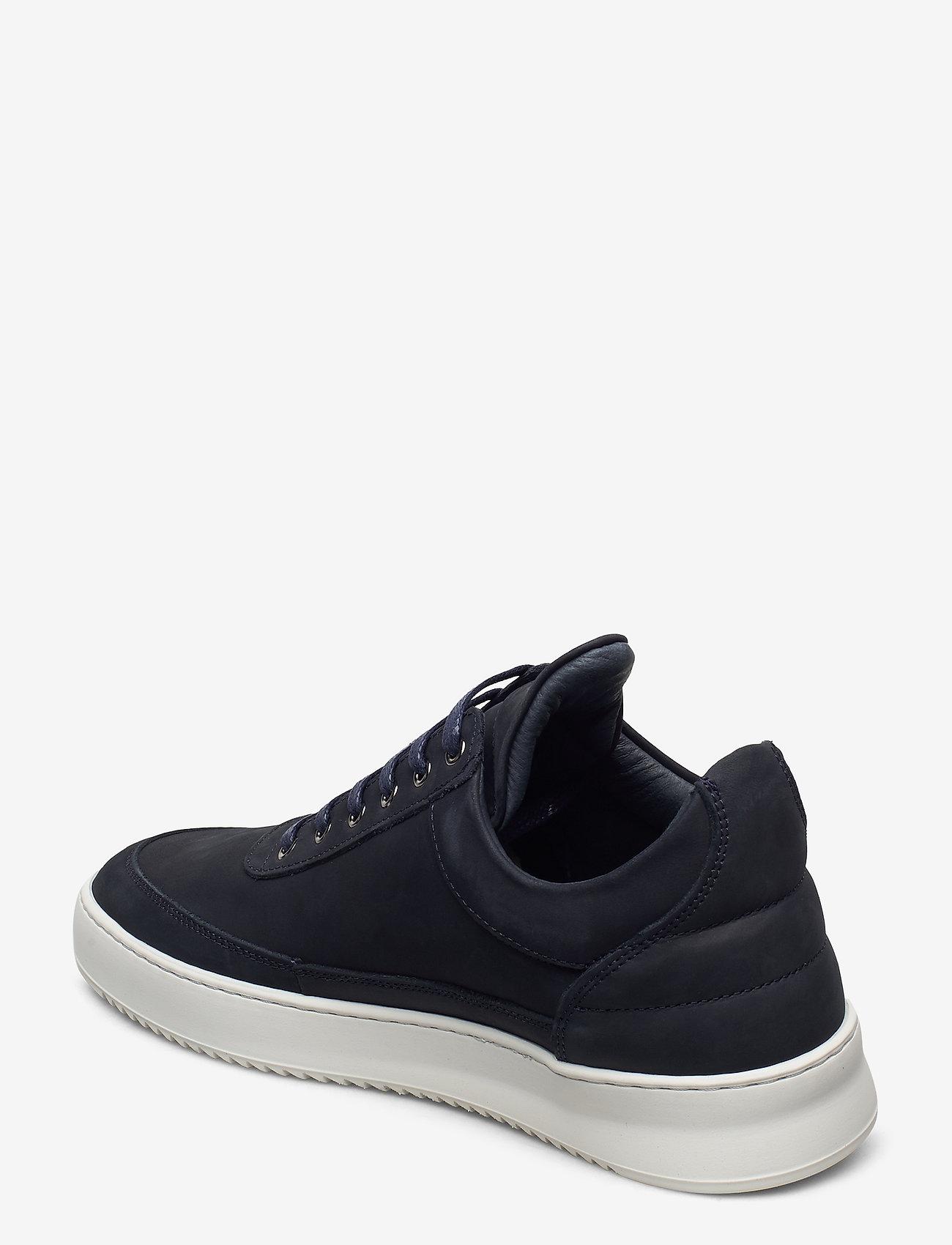 Filling Pieces - Low Top Ripple Nubuck - låga sneakers - dark blue - 1