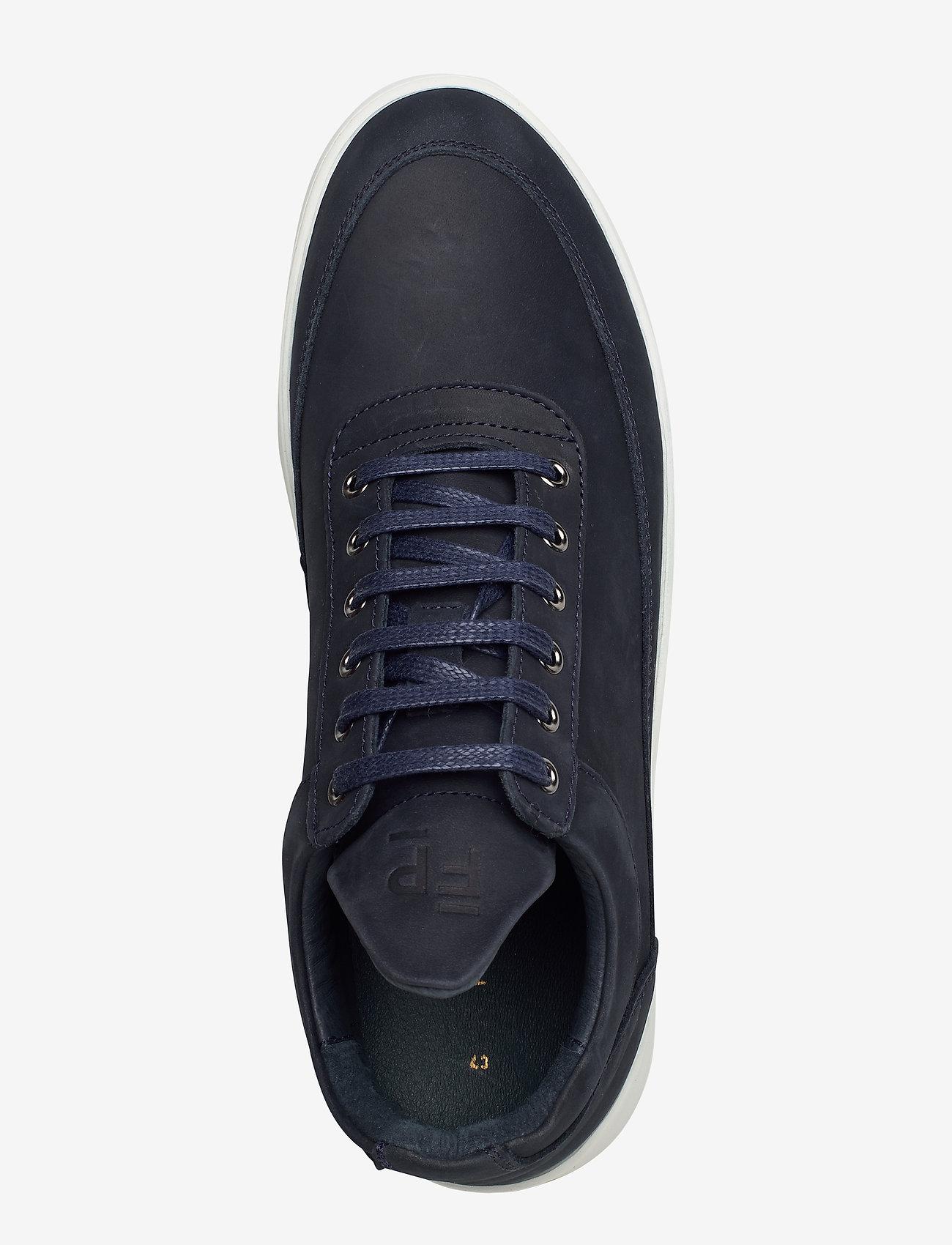 Filling Pieces - Low Top Ripple Nubuck - låga sneakers - dark blue - 4