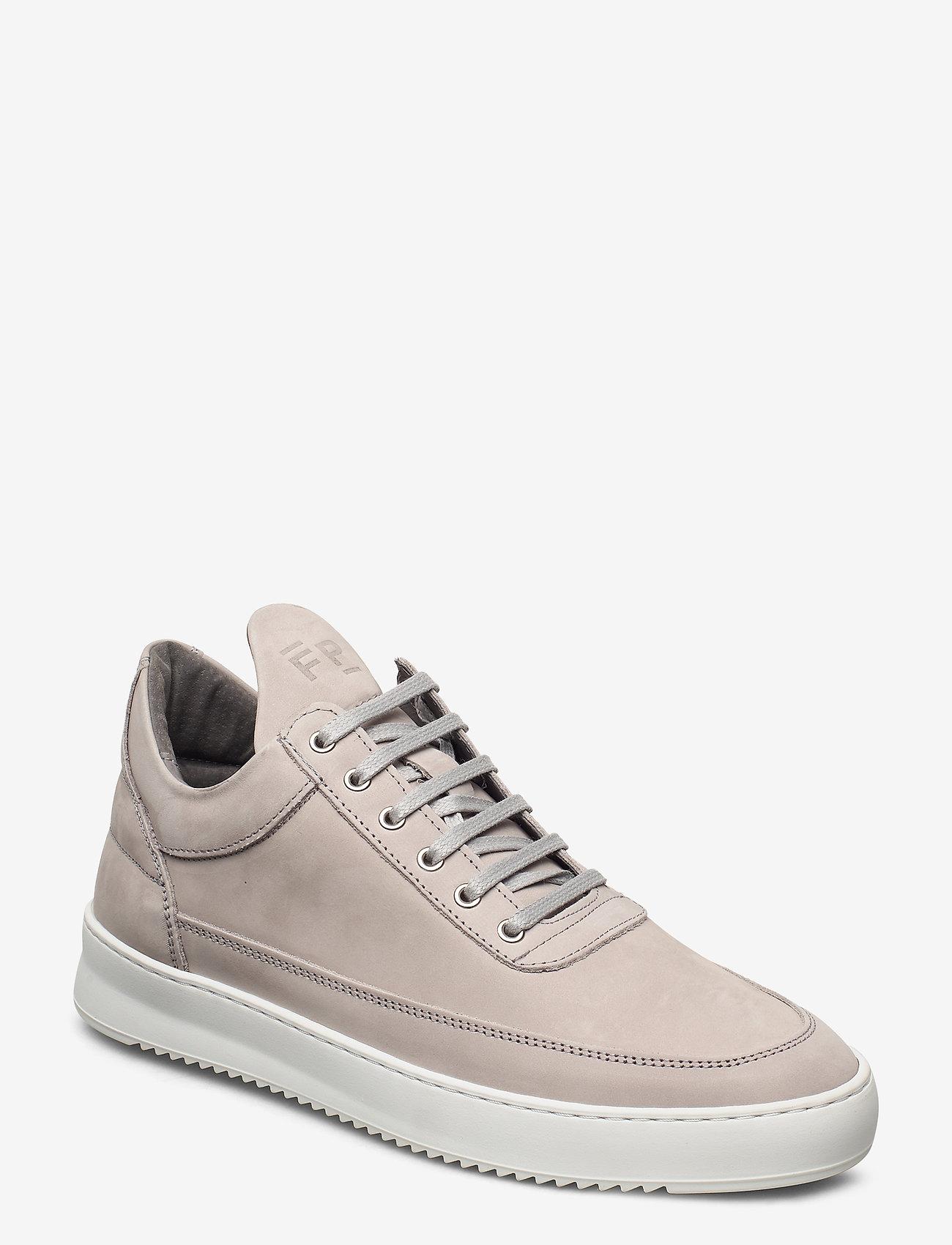 Filling Pieces - Low Top Ripple Nubuck - låga sneakers - grey - 1