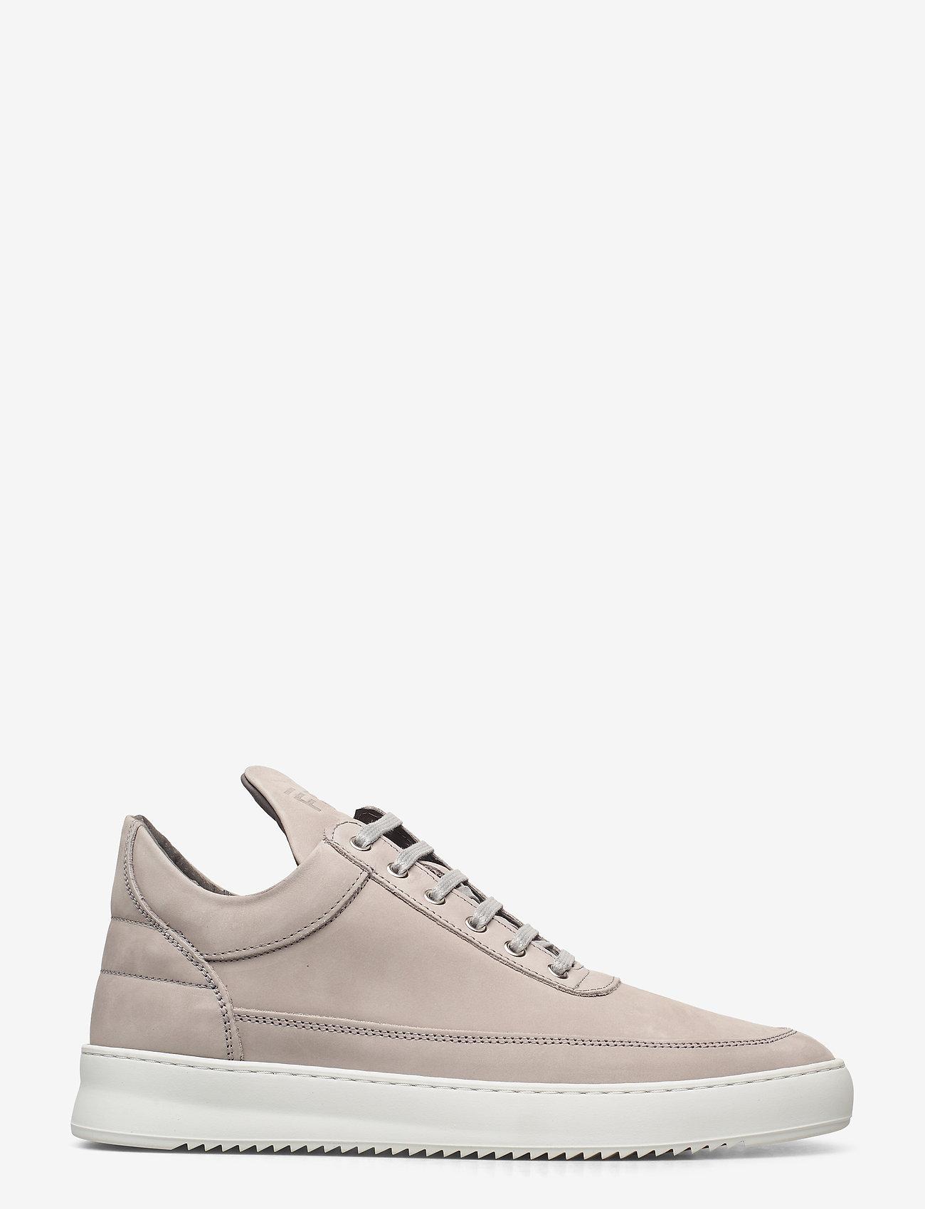 Filling Pieces - Low Top Ripple Nubuck - låga sneakers - grey - 0