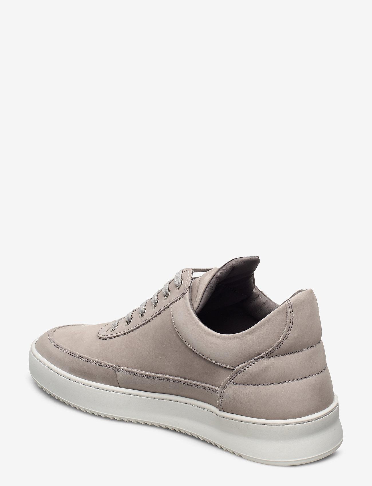 Filling Pieces - Low Top Ripple Nubuck - låga sneakers - grey - 2