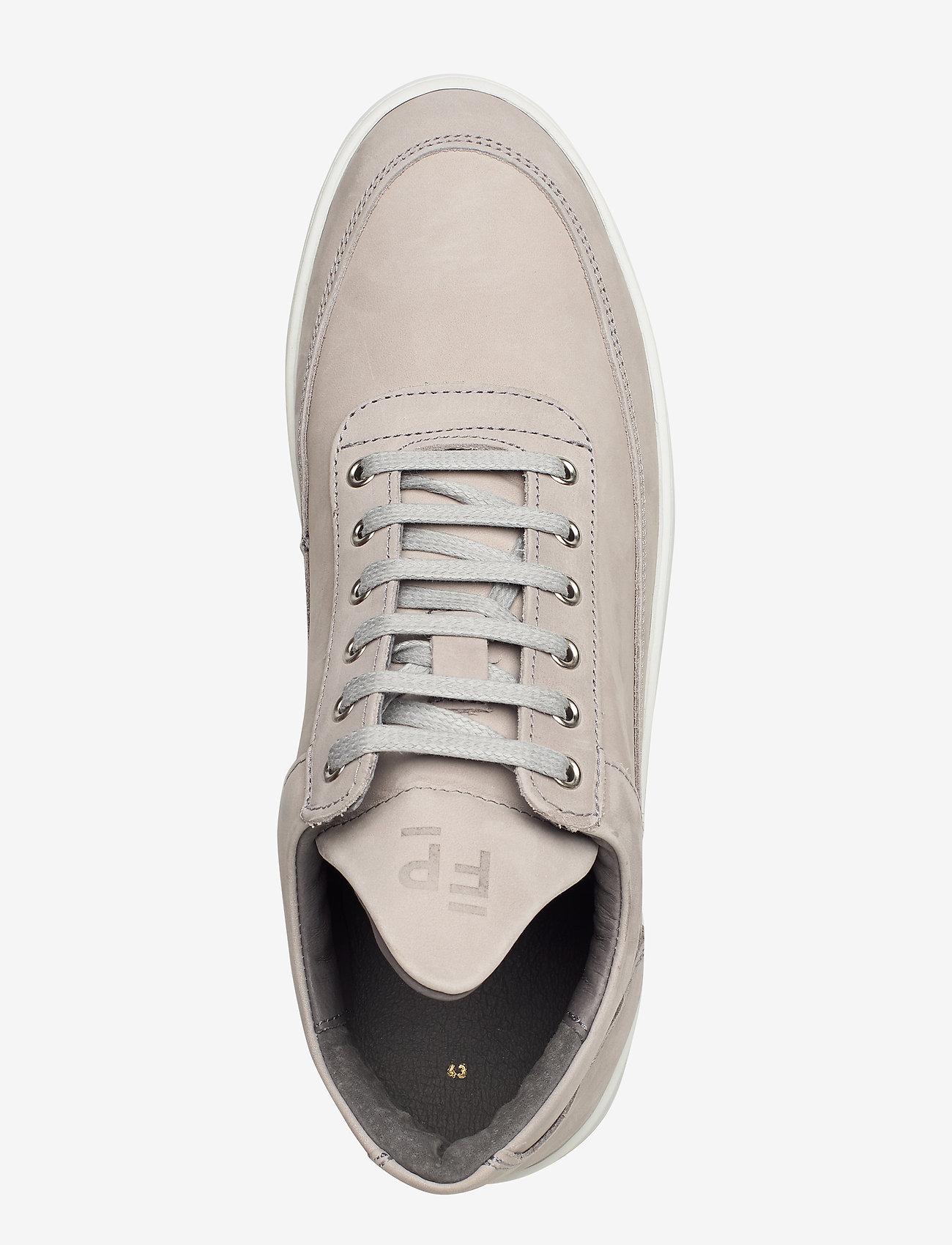 Filling Pieces - Low Top Ripple Nubuck - låga sneakers - grey - 3