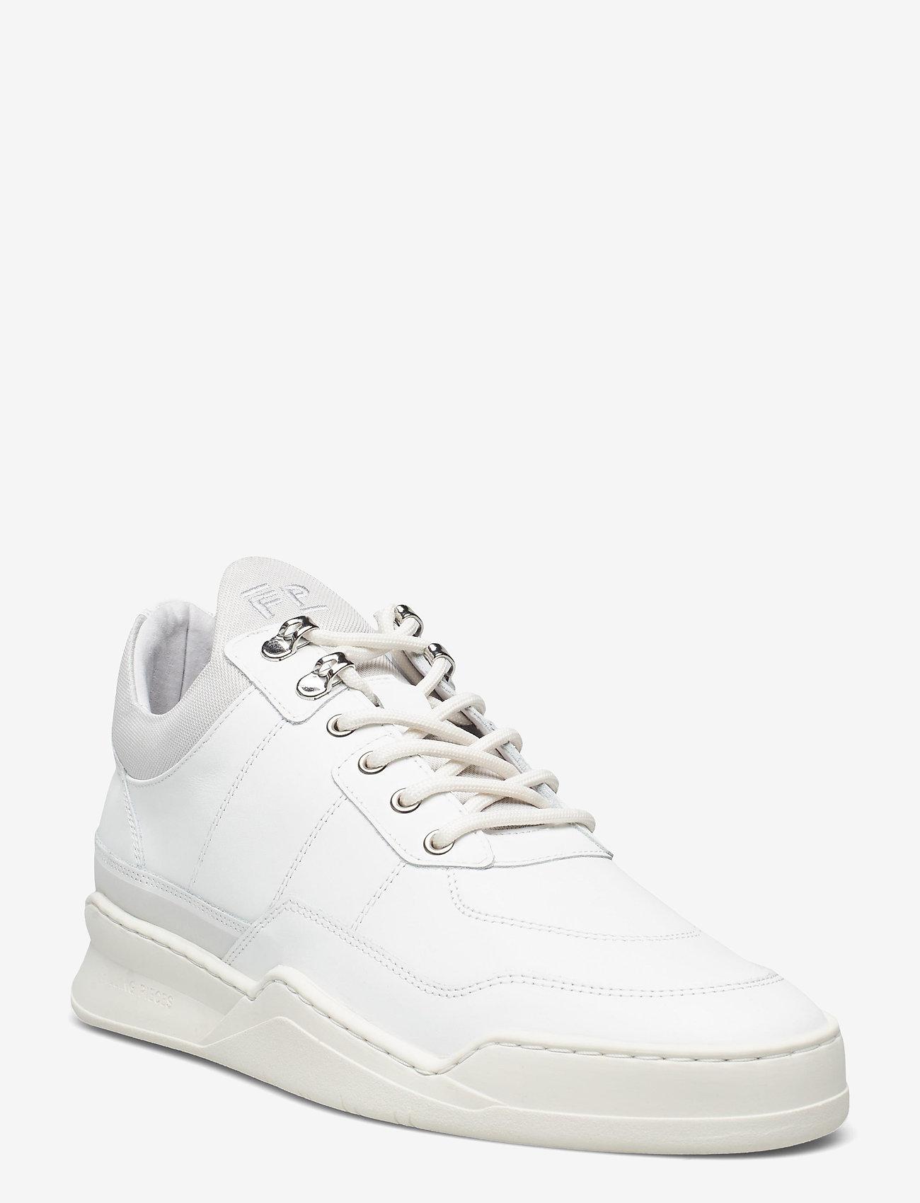 Filling Pieces - Low Top Ghost Radar - låga sneakers - white - 1