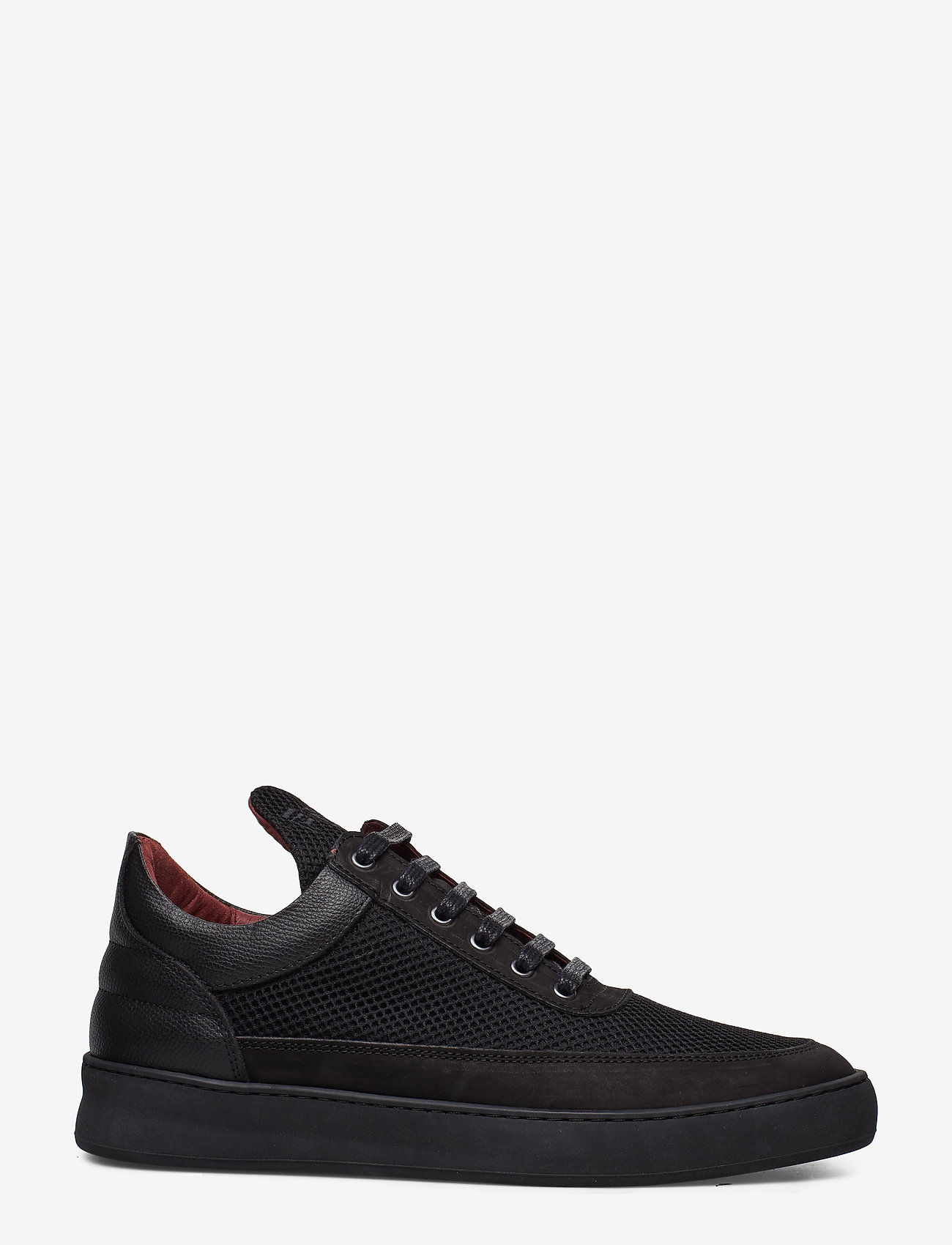 Filling Pieces - Low Top Plain Infinity - low tops - all black - 1