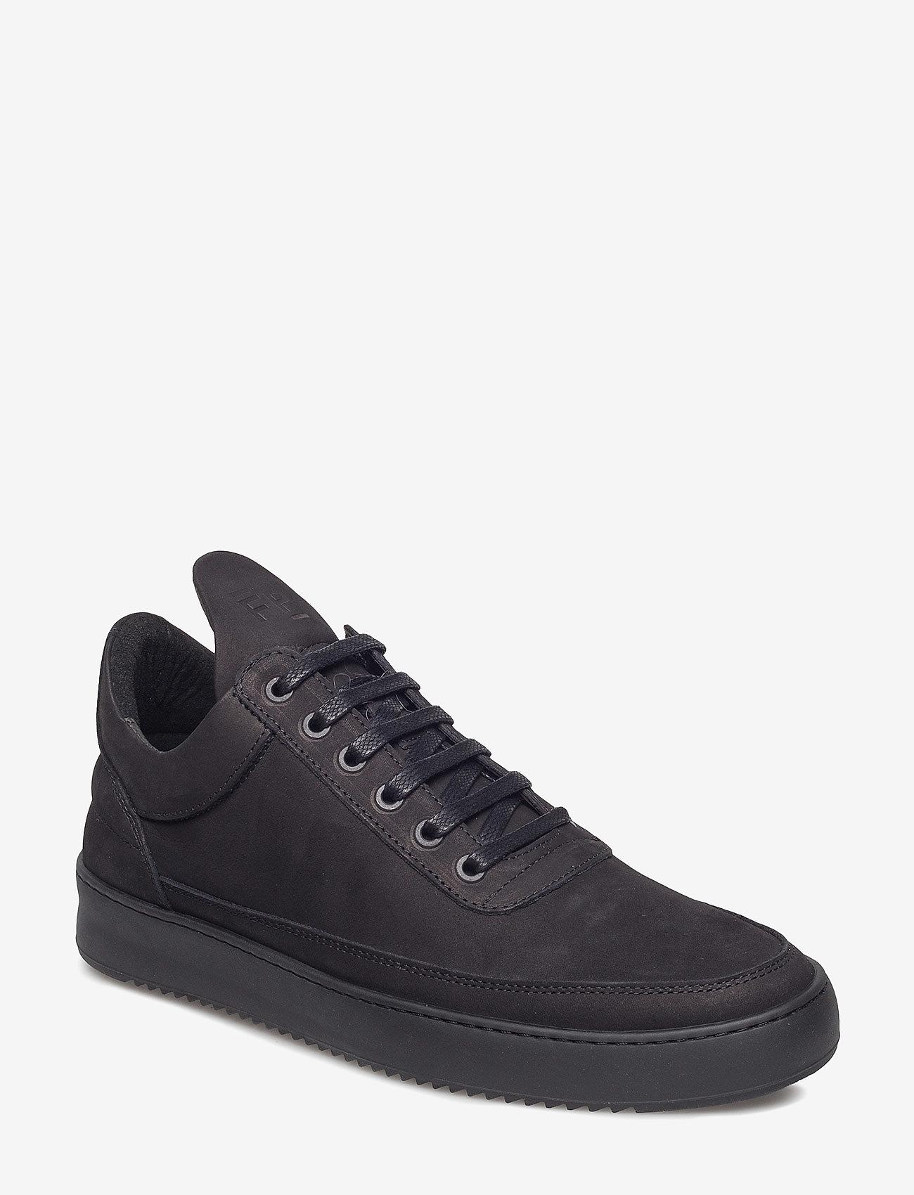 Filling Pieces - Low Top Ripple Tonal - låga sneakers - black - 1