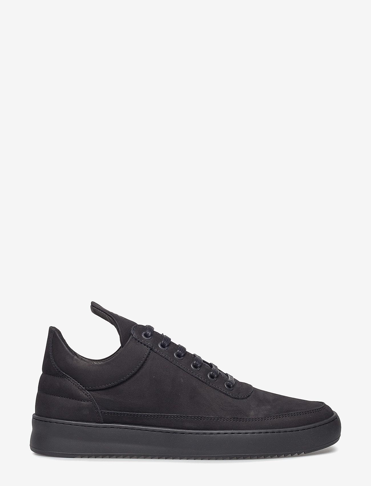 Filling Pieces - Low Top Ripple Tonal - låga sneakers - black - 0