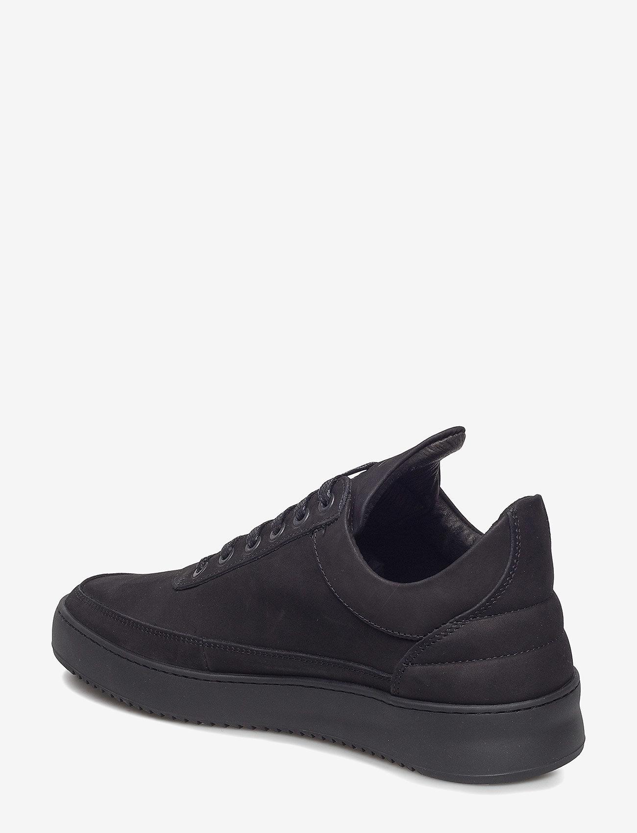 Filling Pieces - Low Top Ripple Tonal - låga sneakers - black - 2