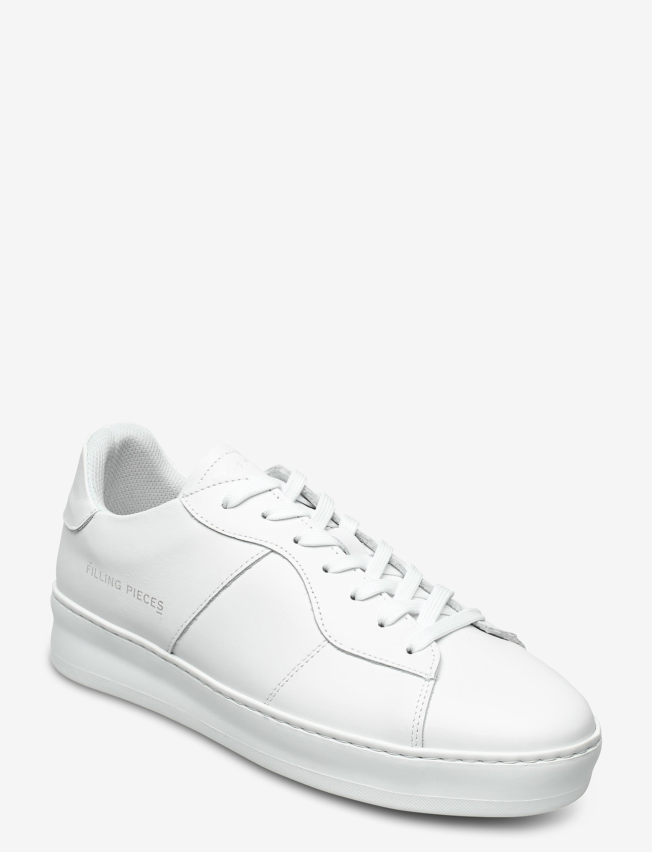 Filling Pieces - Light Plain Court - låga sneakers - all white - 1