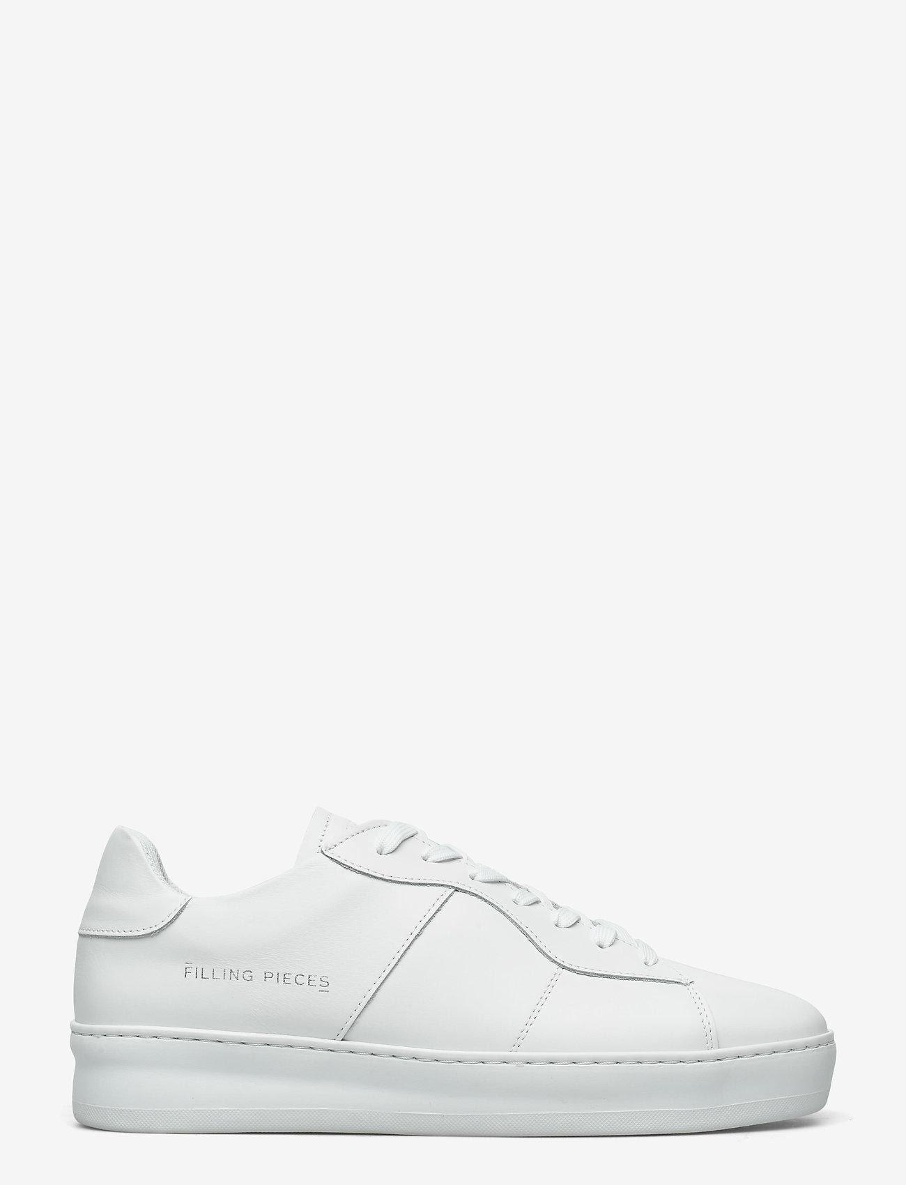 Filling Pieces - Light Plain Court - låga sneakers - all white - 0