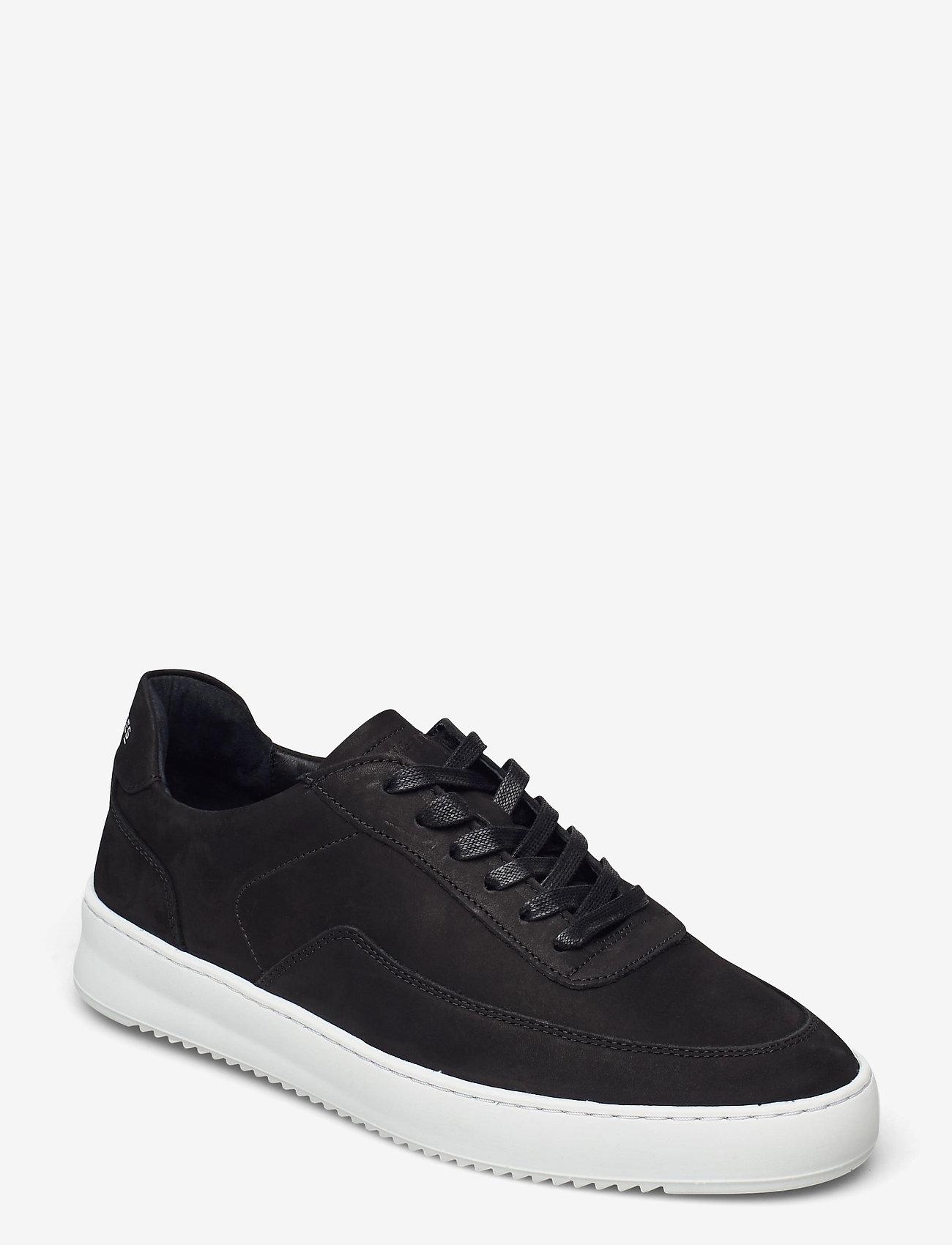 Filling Pieces - Mondo 2.0 Ripple Nubuck - låga sneakers - black - 1